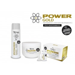 O.C .POWER GOLD  HOME MAINTEIN  KIT TRATAMENT TAHE