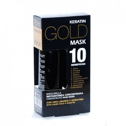 KERATIN GOLD MASK  ORGANIC CARE  TAHE 125 ml