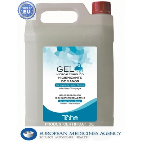 GEL DEZINFECTANT 70% ALCOOL  5L